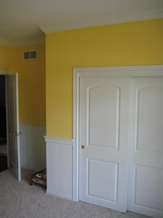 Painting/Wainscoting/Crown