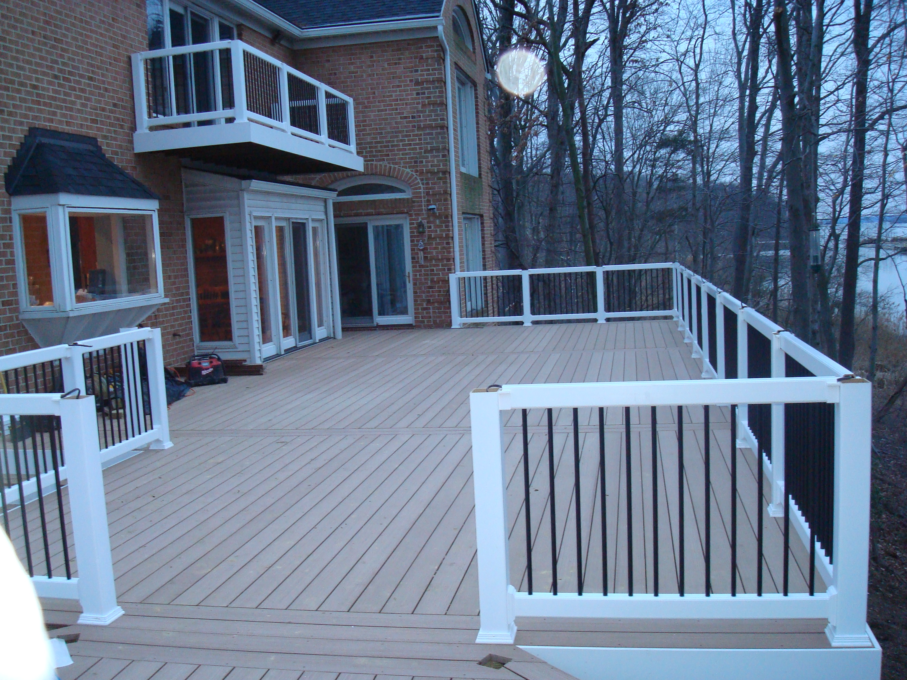 Standing on the Deck