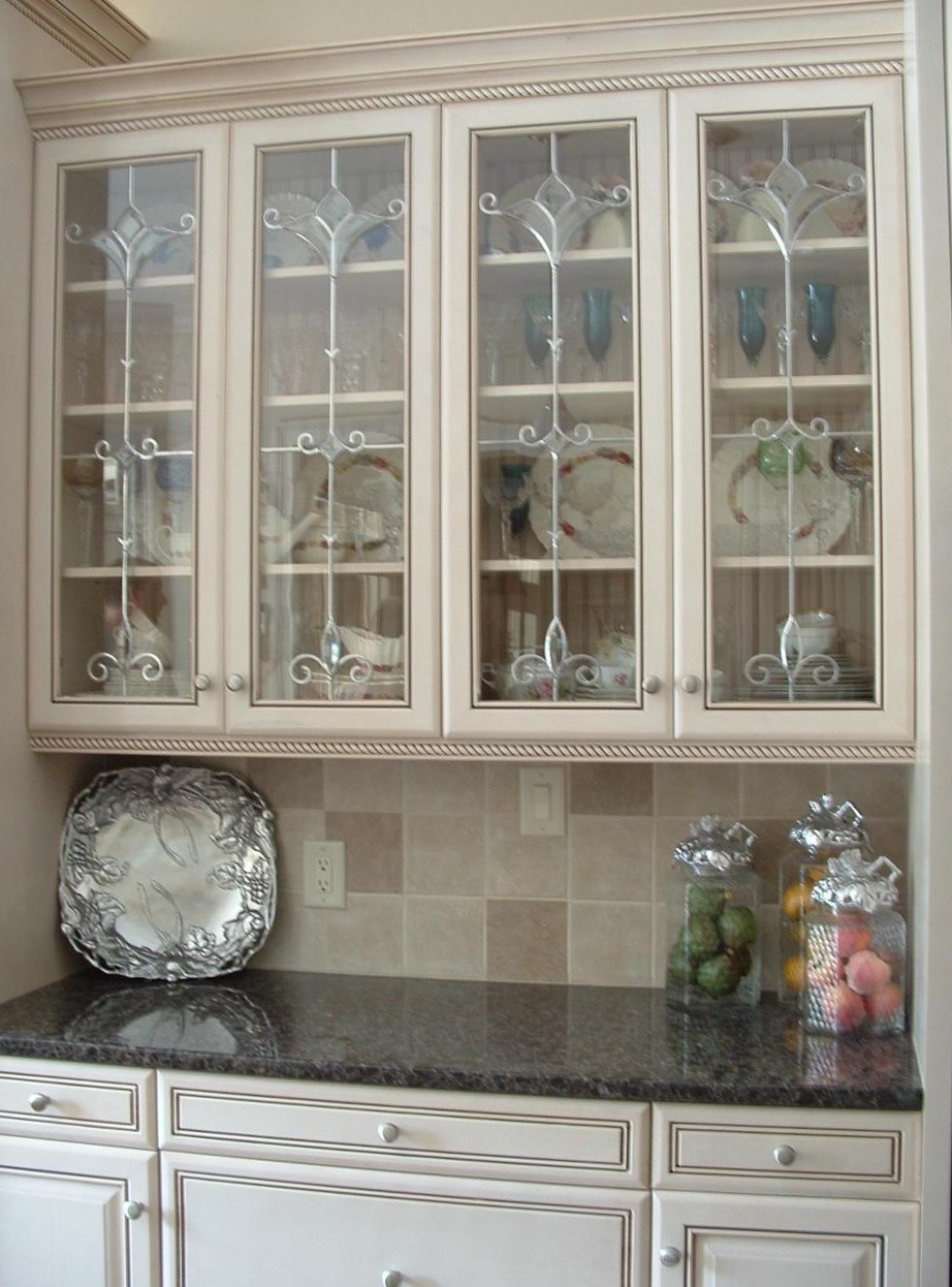 missisauga kichen cabinet glass styles | CAROLINA CREATIVE GLASS & DESIGN INC | Charlotte, NC 28270 ...