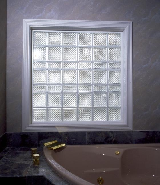 Cleveland glass block windows bath doctor cleveland for Glass block window sizes