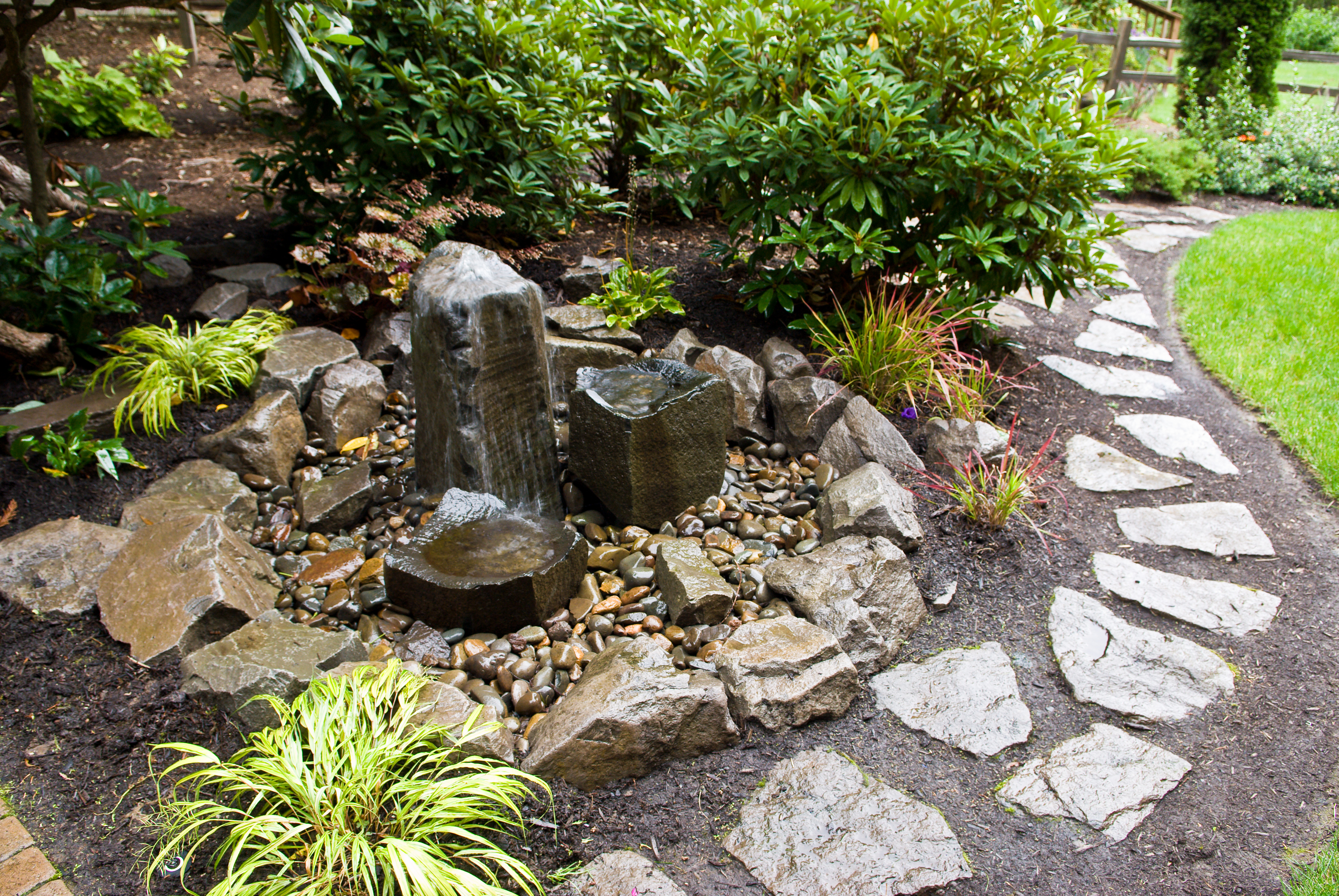 Moss rock landscaping portland or 97223 angie 39 s list for Waterfall features