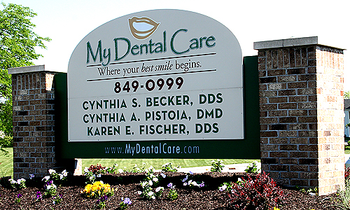 My Dental Care Sign