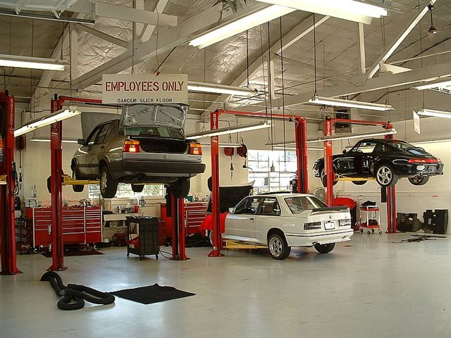 Our service bays
