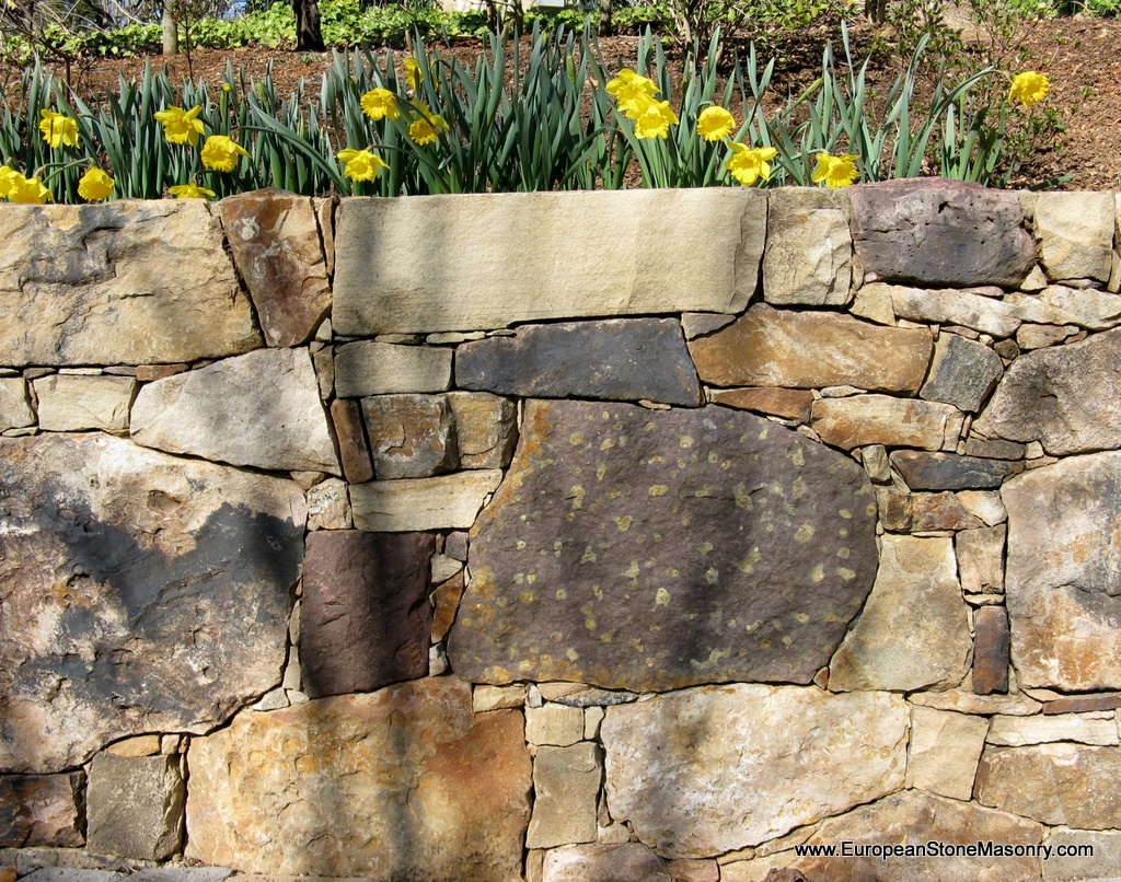 Dry Stack Fieldstone Retaining Wall : European stone masonry llc raleigh nc angies list