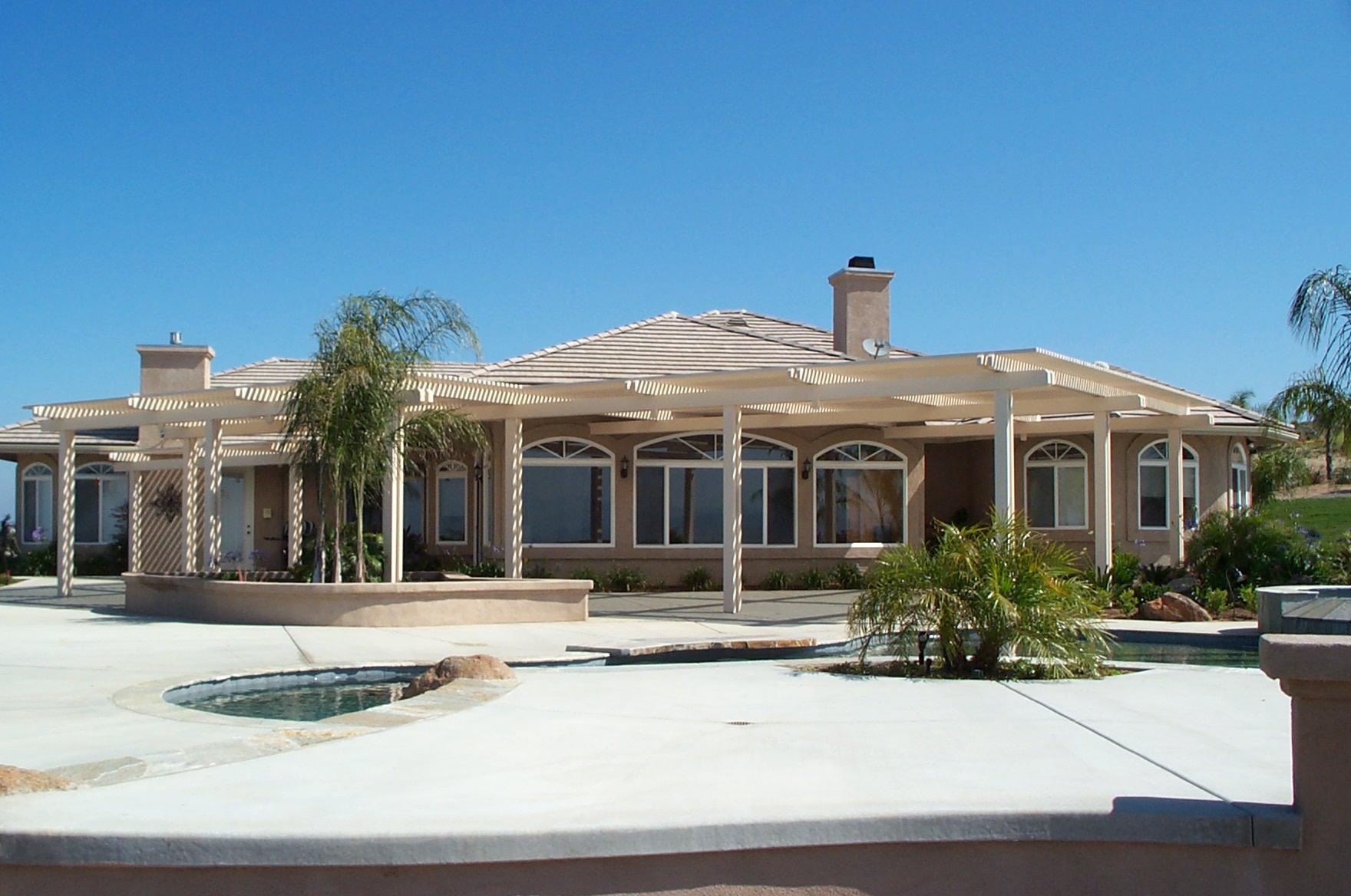 alumawood lattice patio cover