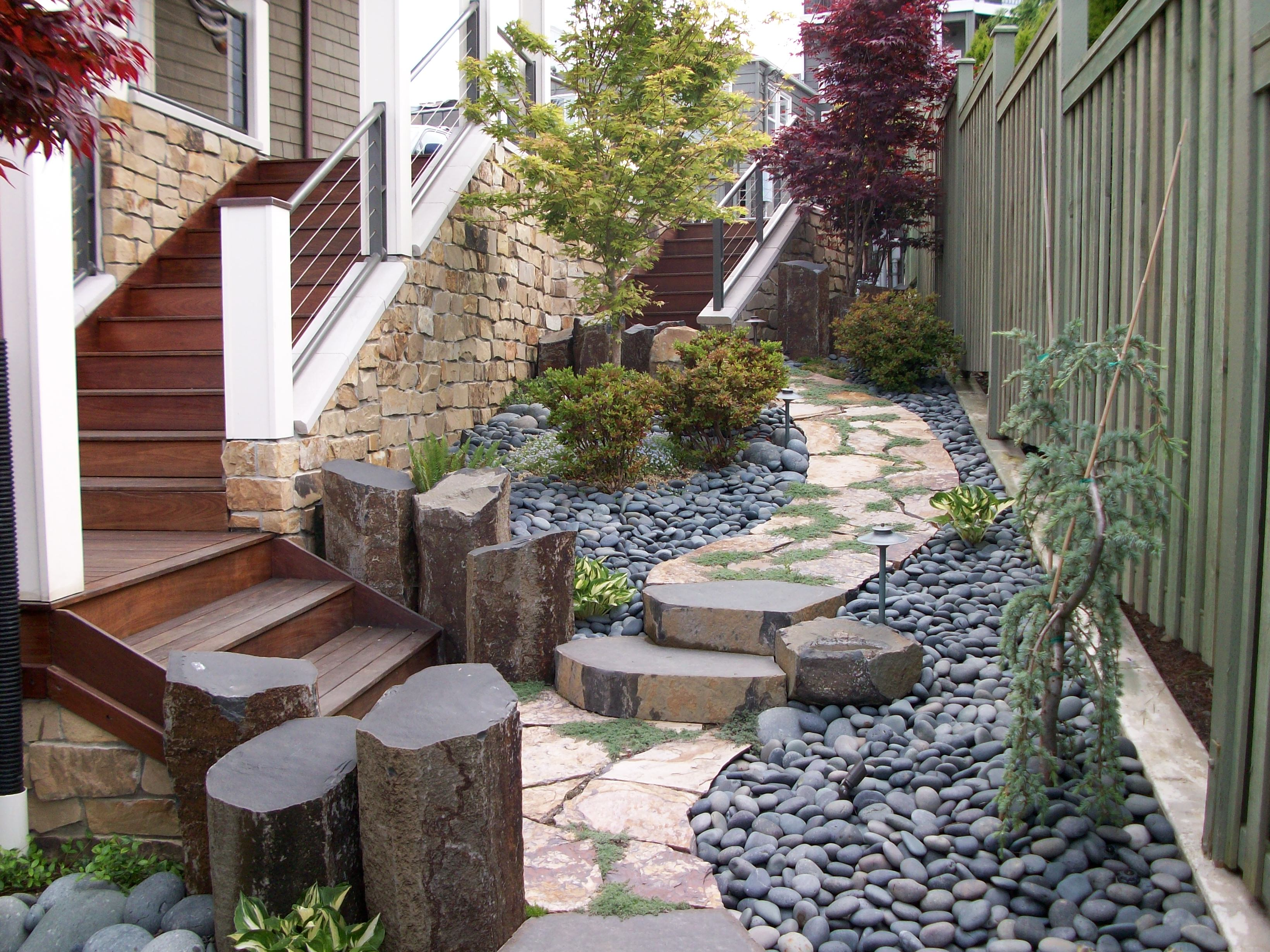 Landscaping Rocks Puyallup : Professional landscape sunrise landscaping tree removal for