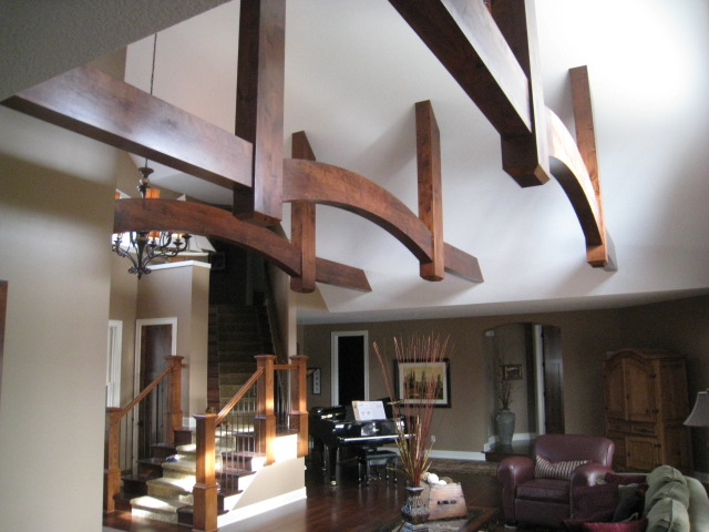 spectacular suspended beams