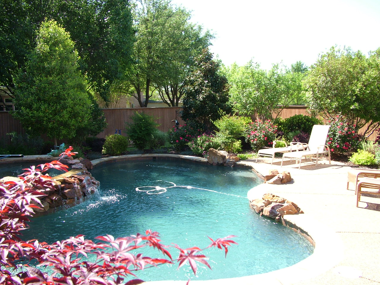 Steele landscapes patios keller tx 76248 angies list for Pool landscaping