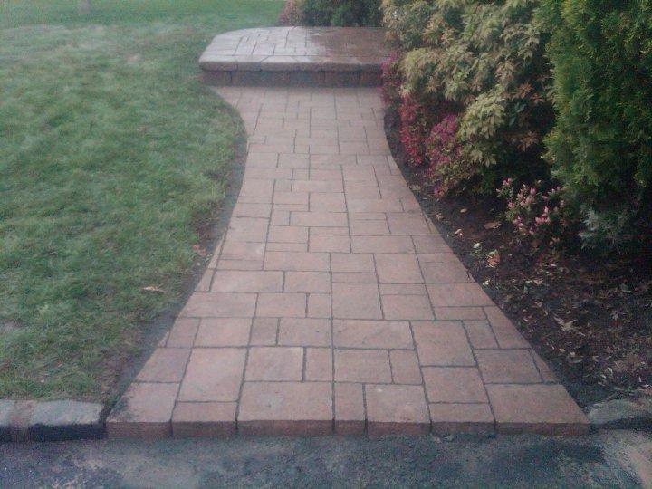 Front Walkway & Step