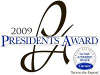 2009 Carrier President's Award