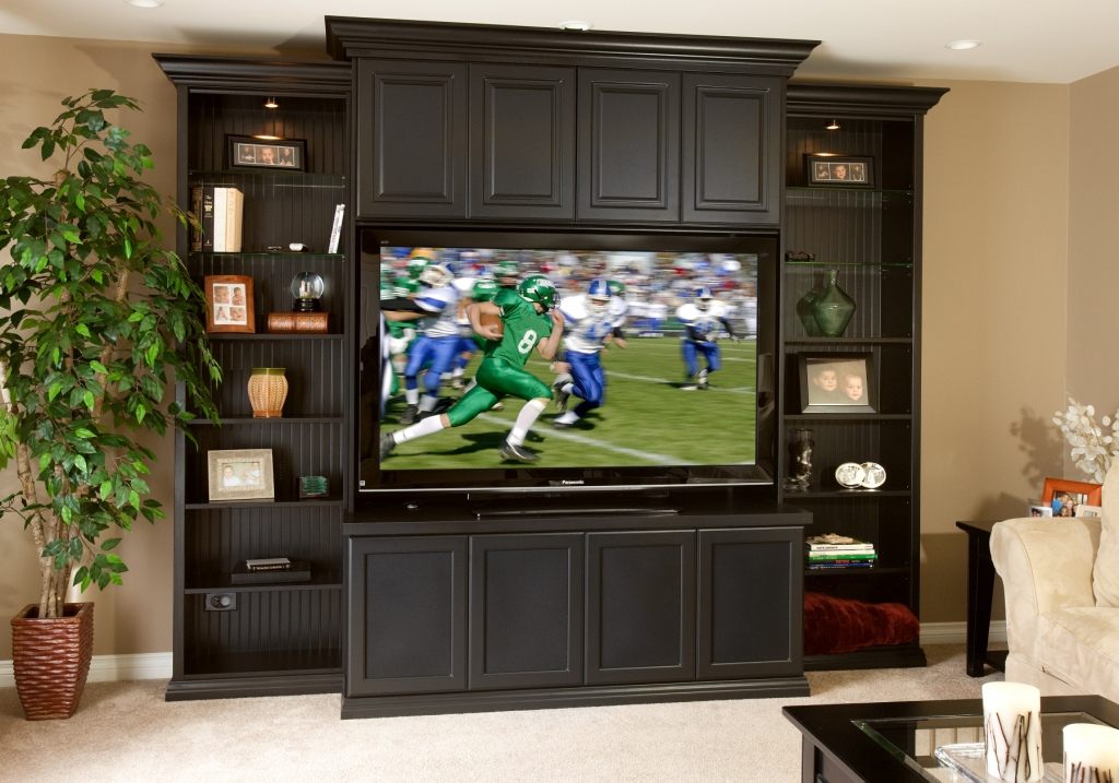 Melaime Wall Unit for Flat Screen
