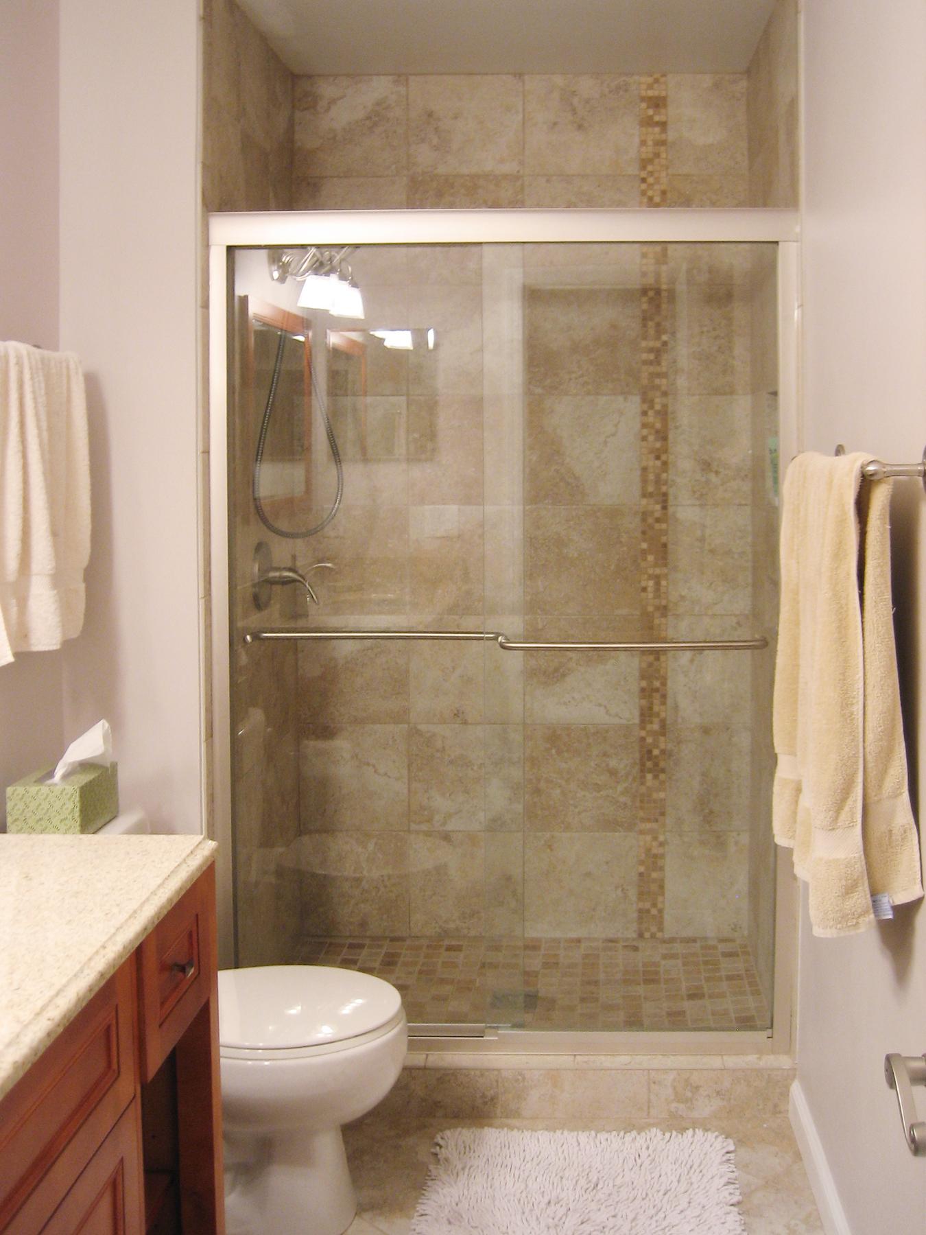 Hometown plumbers yorktown va 23692 angies list for Shower stall remodel