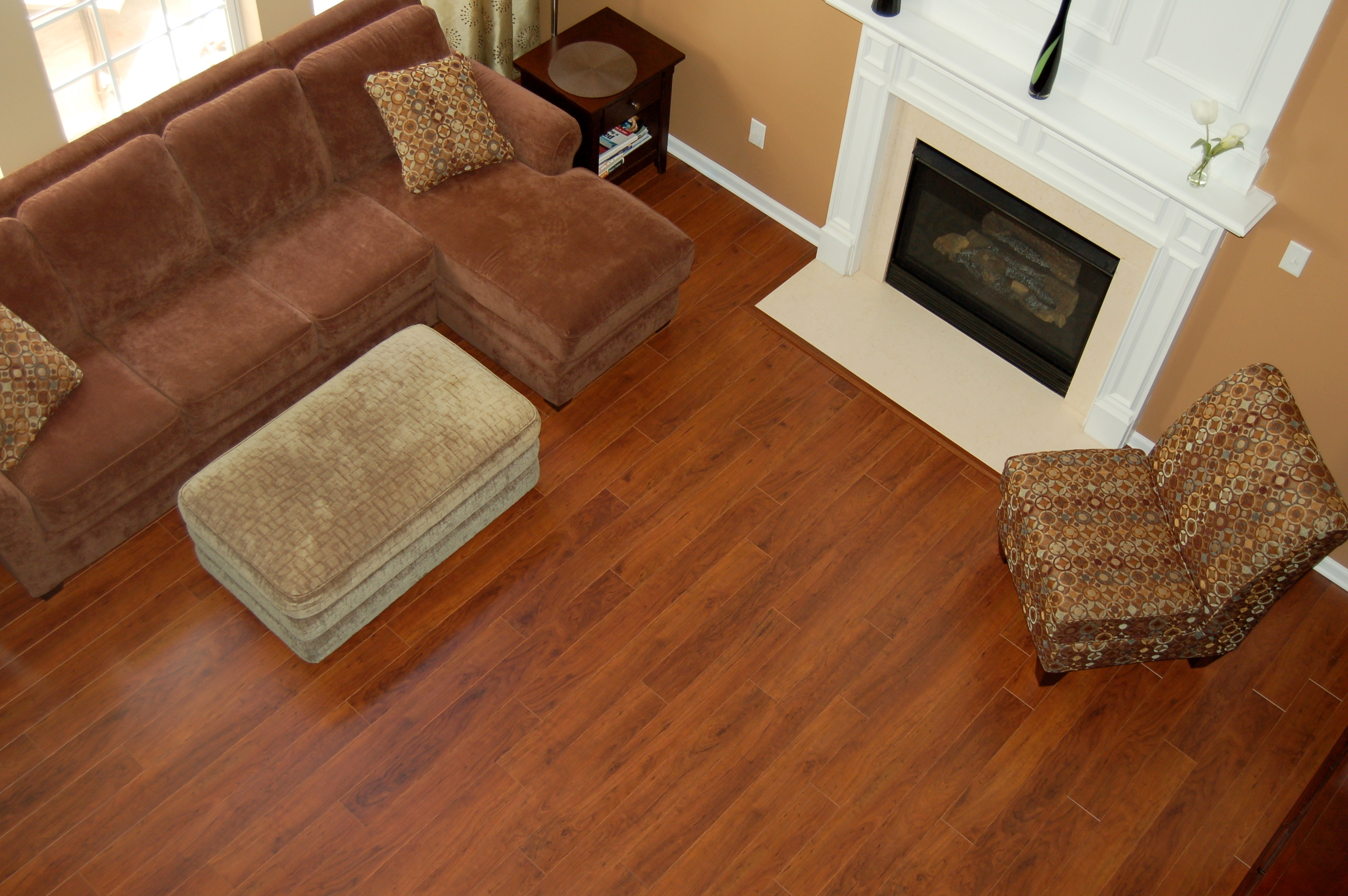 J wood flooring pineville nc 28134 angies list for Wood floor up to fireplace