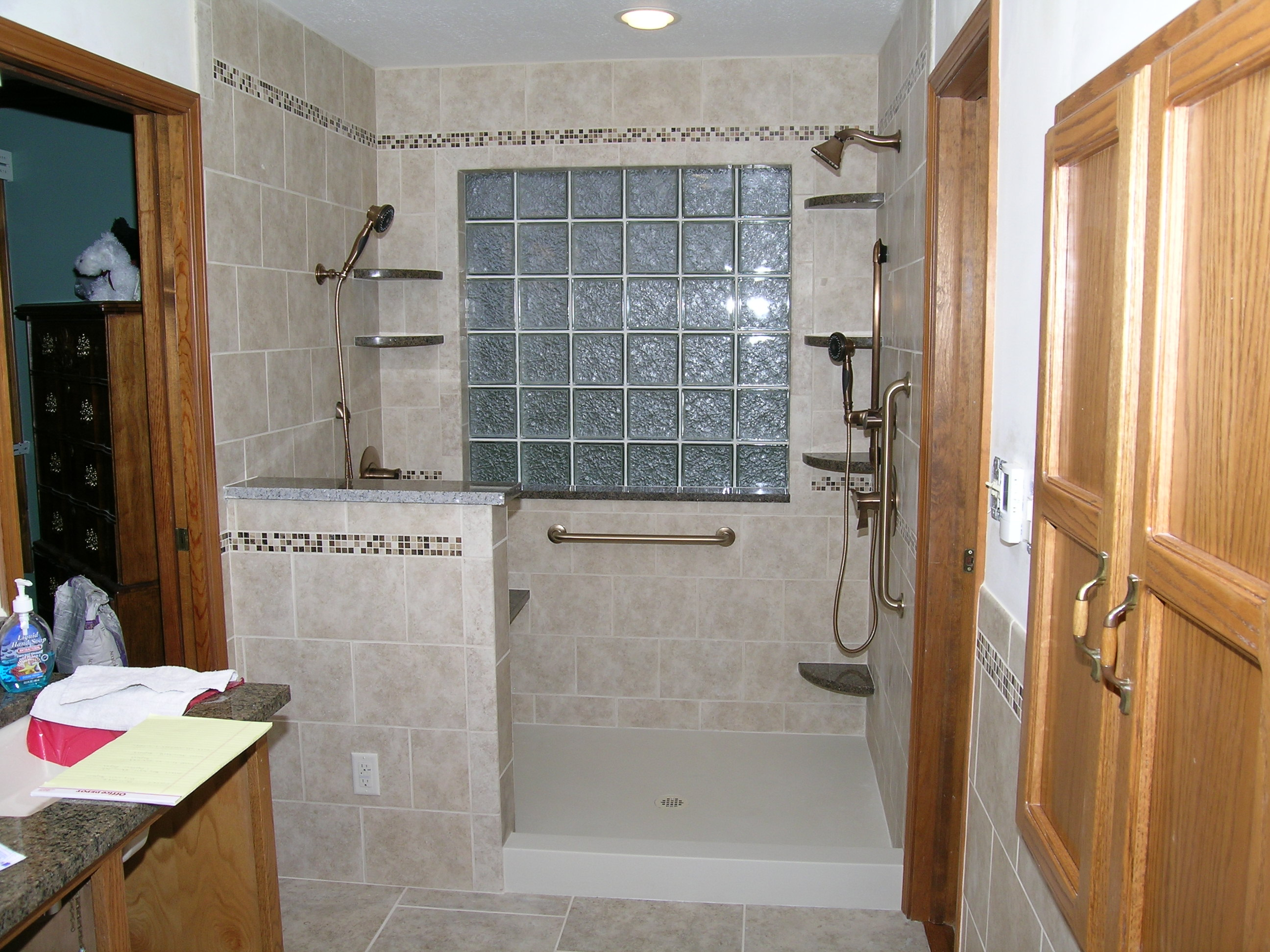 Updike bathroom remodeling indianapolis in 46227 for Bathroom remodel indianapolis