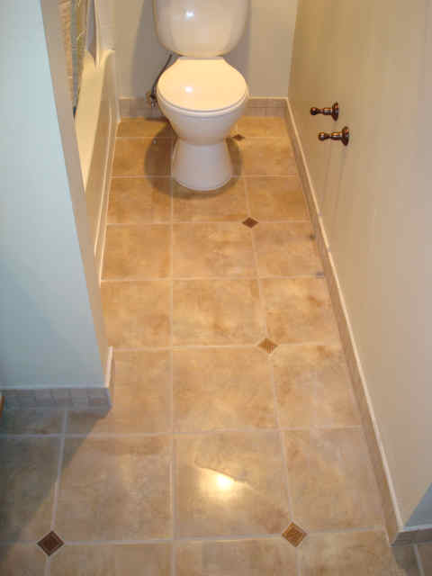 Bath Tile Floor