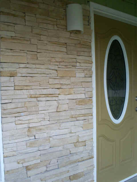 Cultured Stone Installation