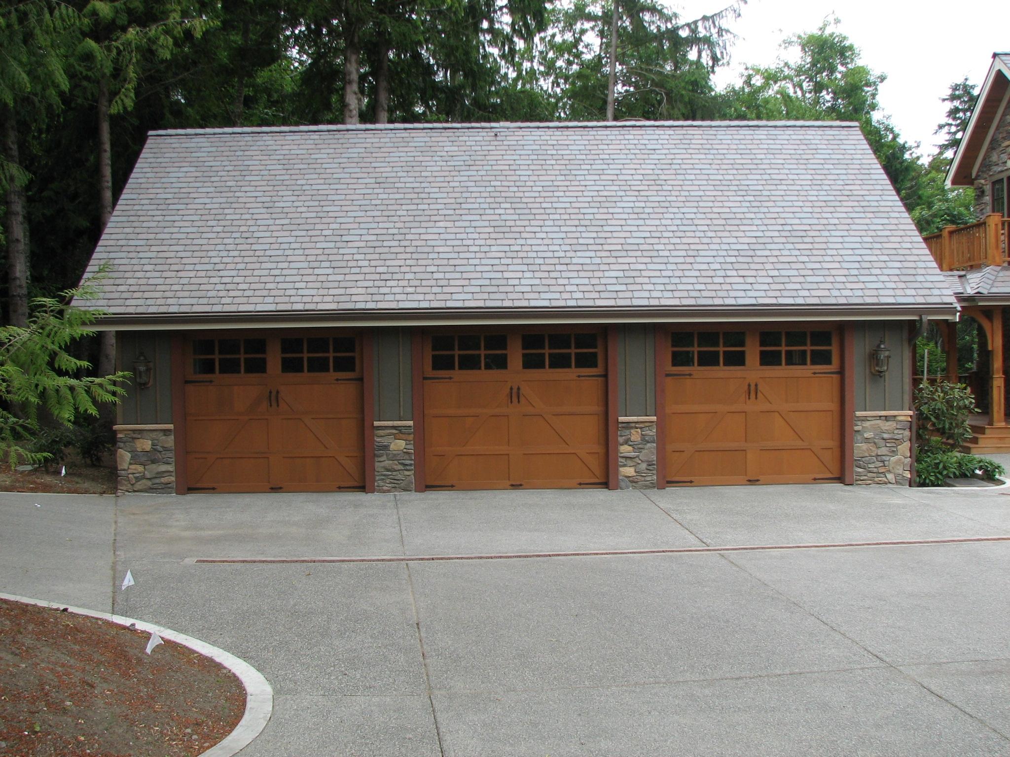1536 #6D452C Door Reconditioning Plus All City Garage Door $ 184 Single Garage Door  wallpaper Garage Doors Kent 37252048