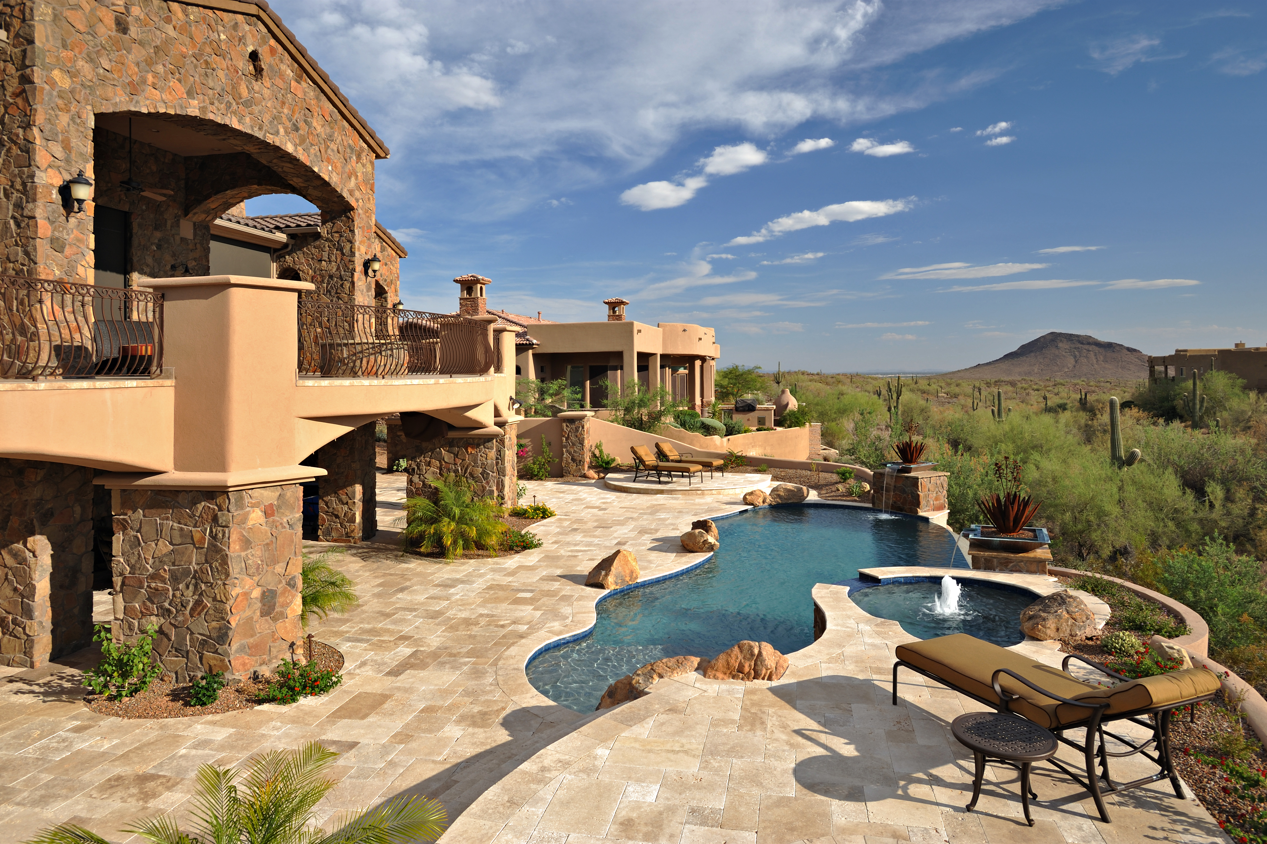 California pools landscape chandler az 85226 angies for Garden pool in arizona