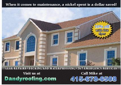 10% off coupon from Dandy Roofing