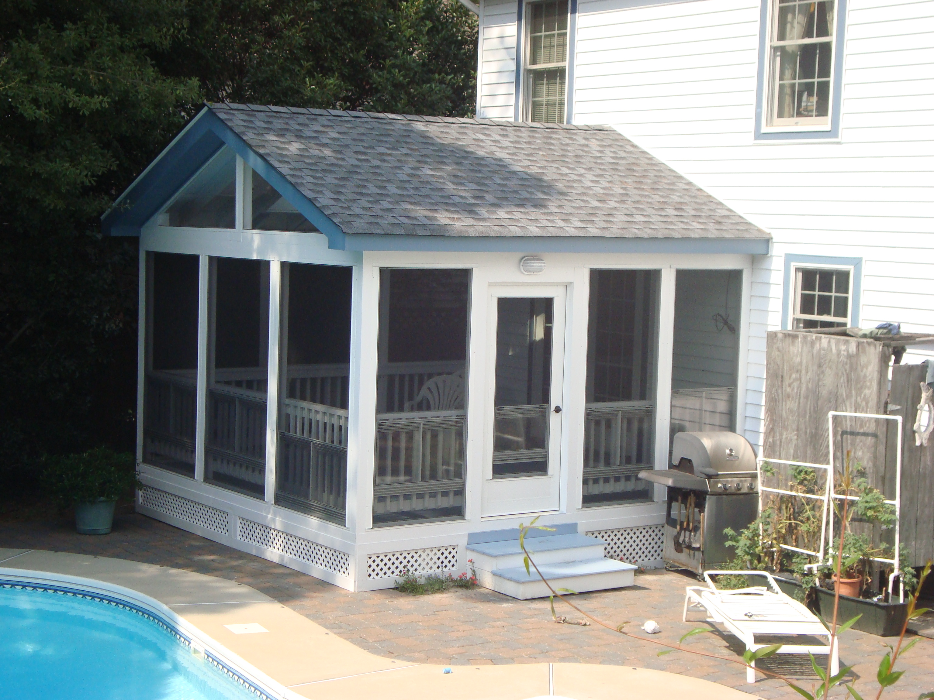 Custom Screen Porch