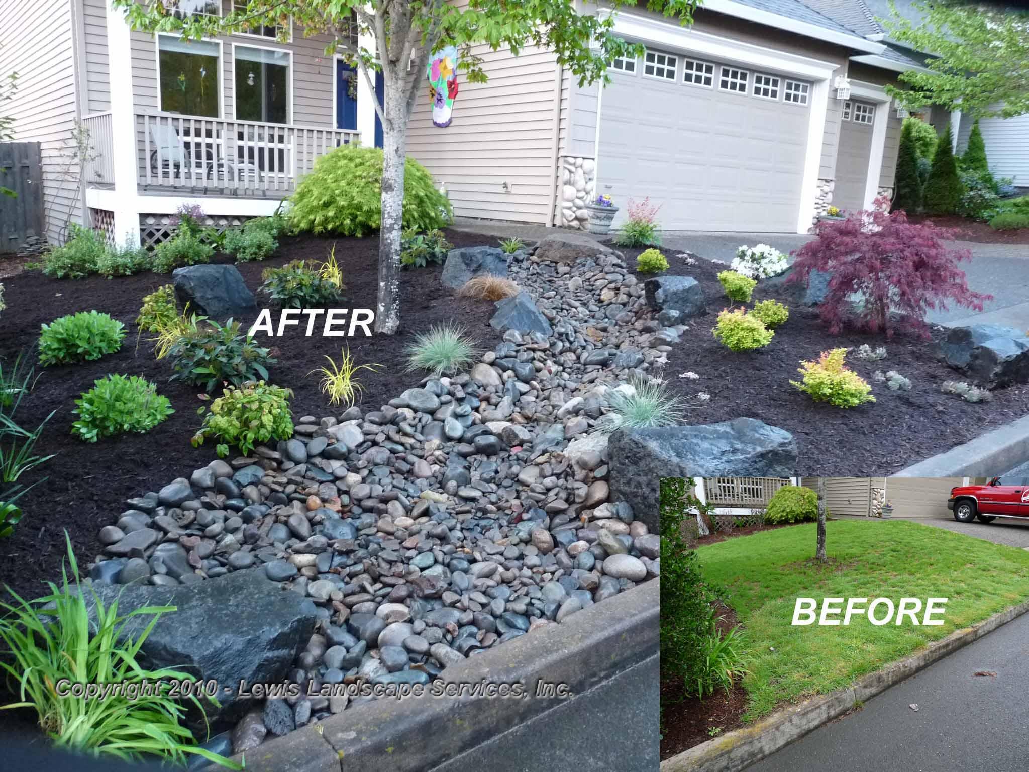 Lewis Landscape Services Inc Beaverton Or 97006 Angie