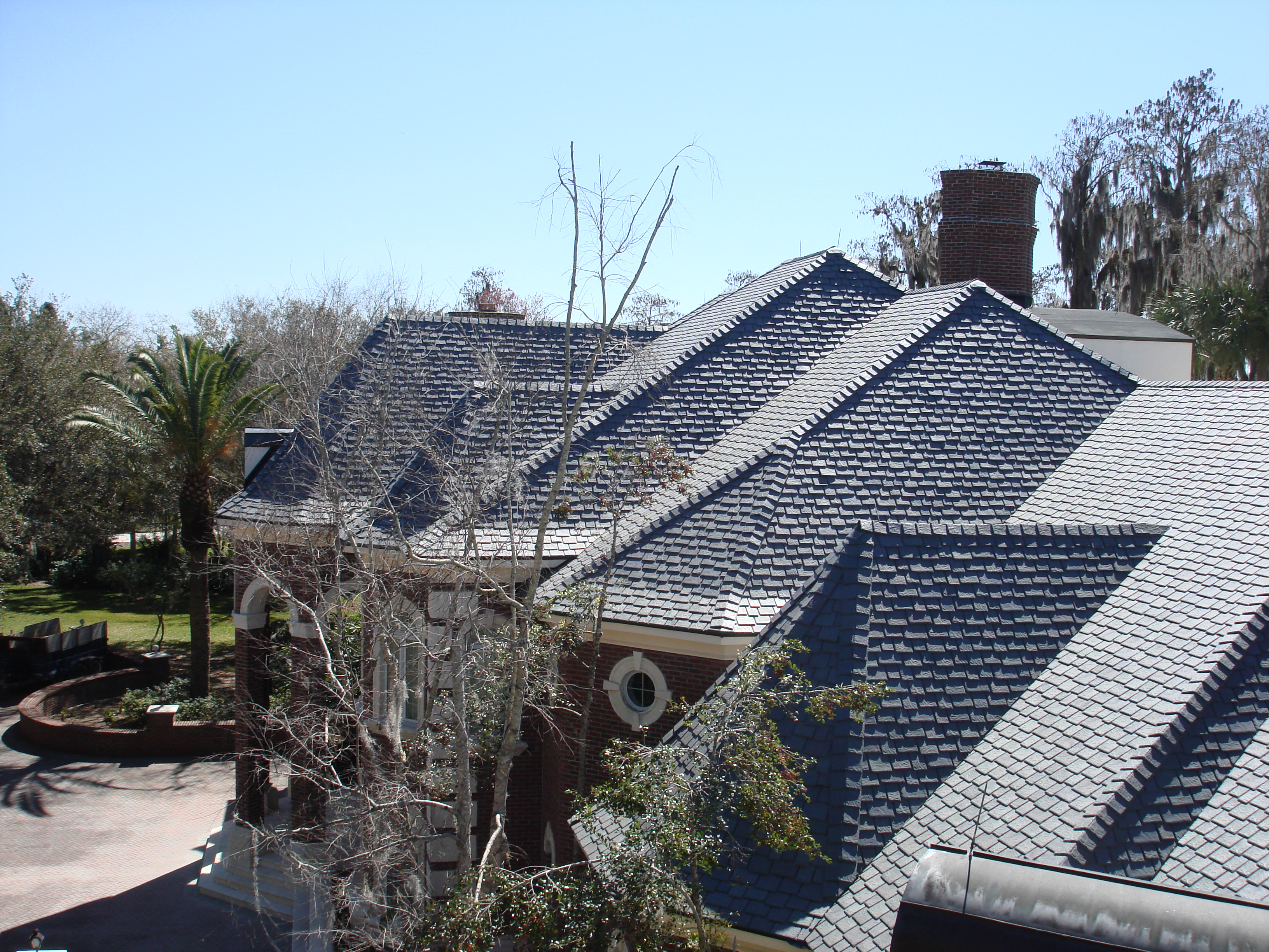 Dockside roofing inc tampa fl 33637 angies list for Davinci slate roof reviews