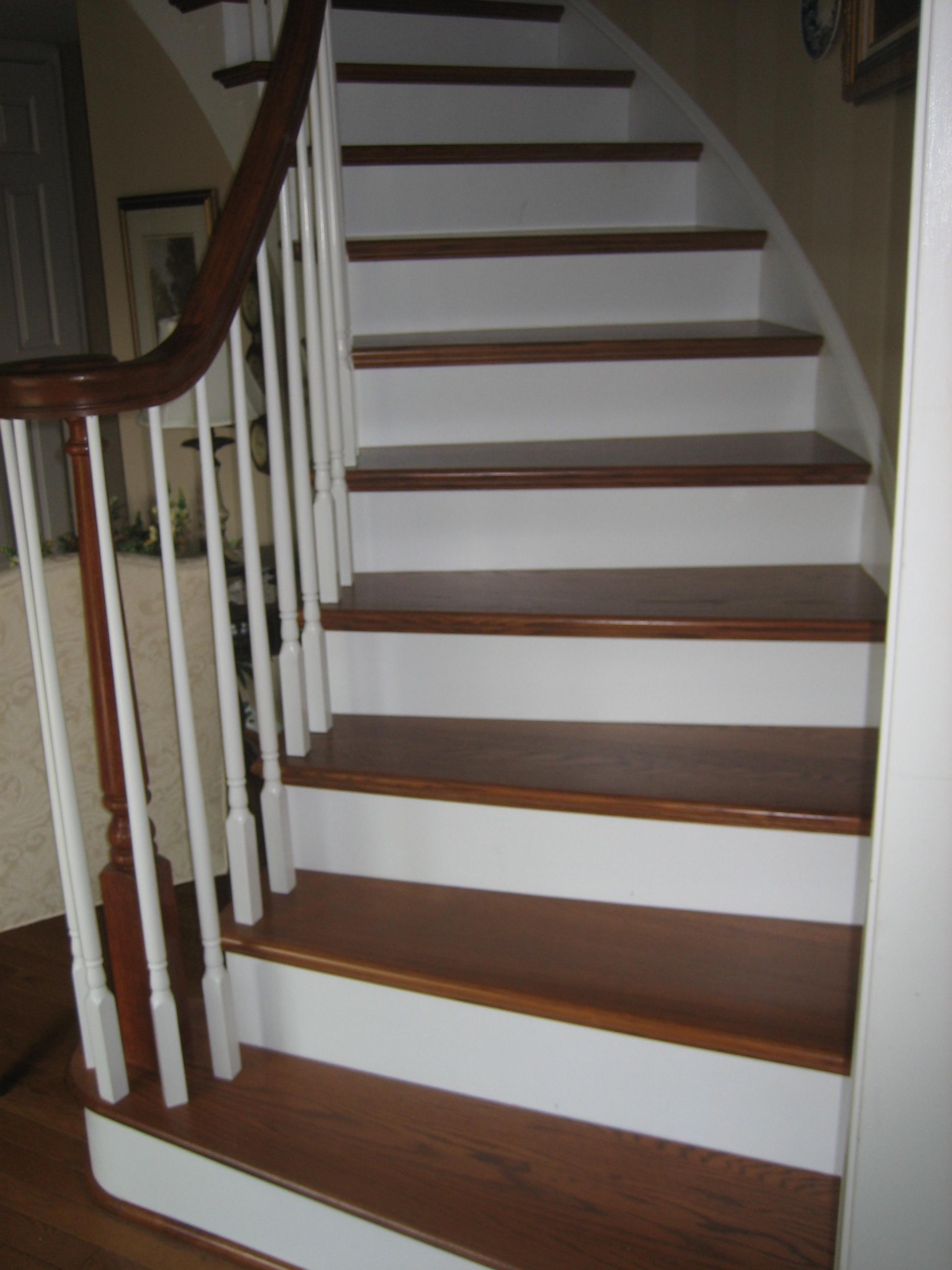 Curved Stair Recraft - Woodbridge, VA