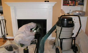 $125 for a Chimney Sweep Plus Inspection...