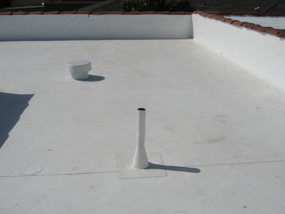 PVC Single Ply Cool Roof