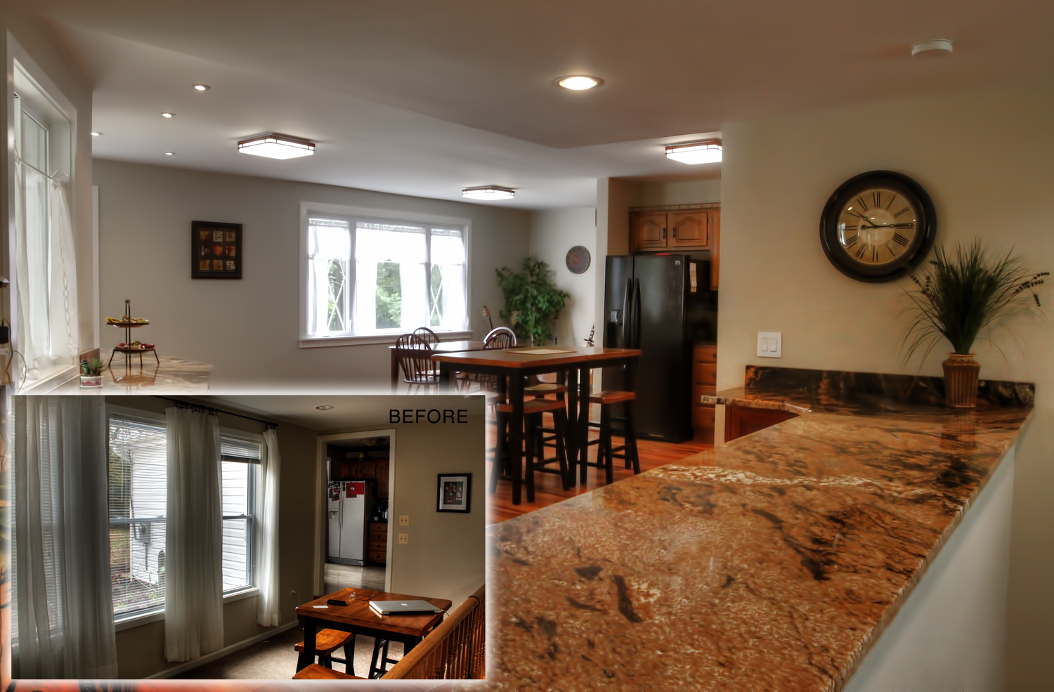 Kitchen and Front Porch Remodel