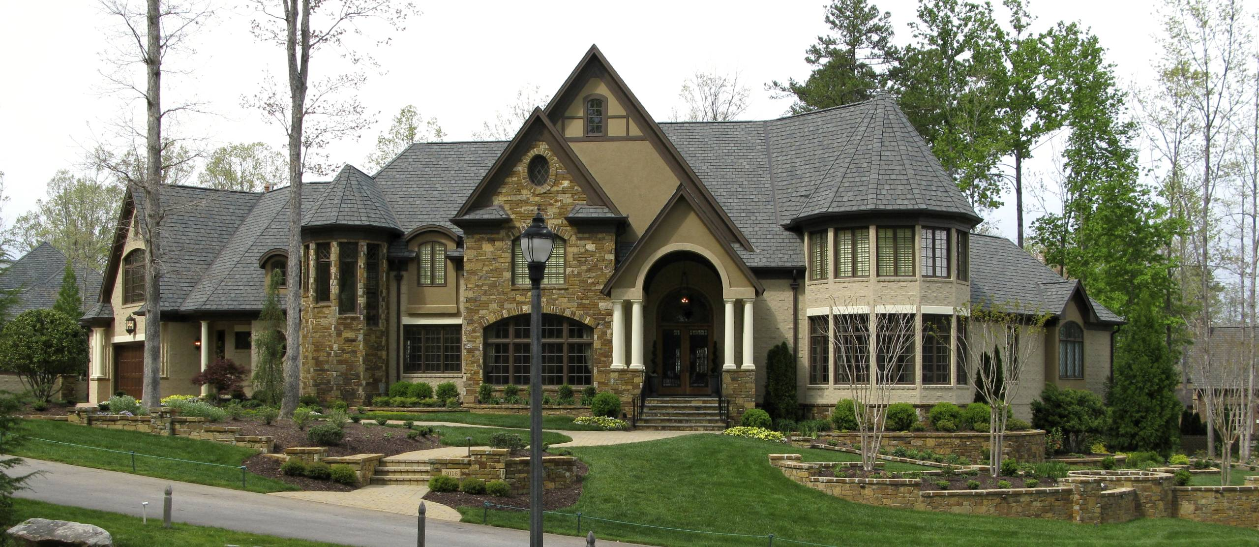 Luxury Stone Homes The Image Kid Has It
