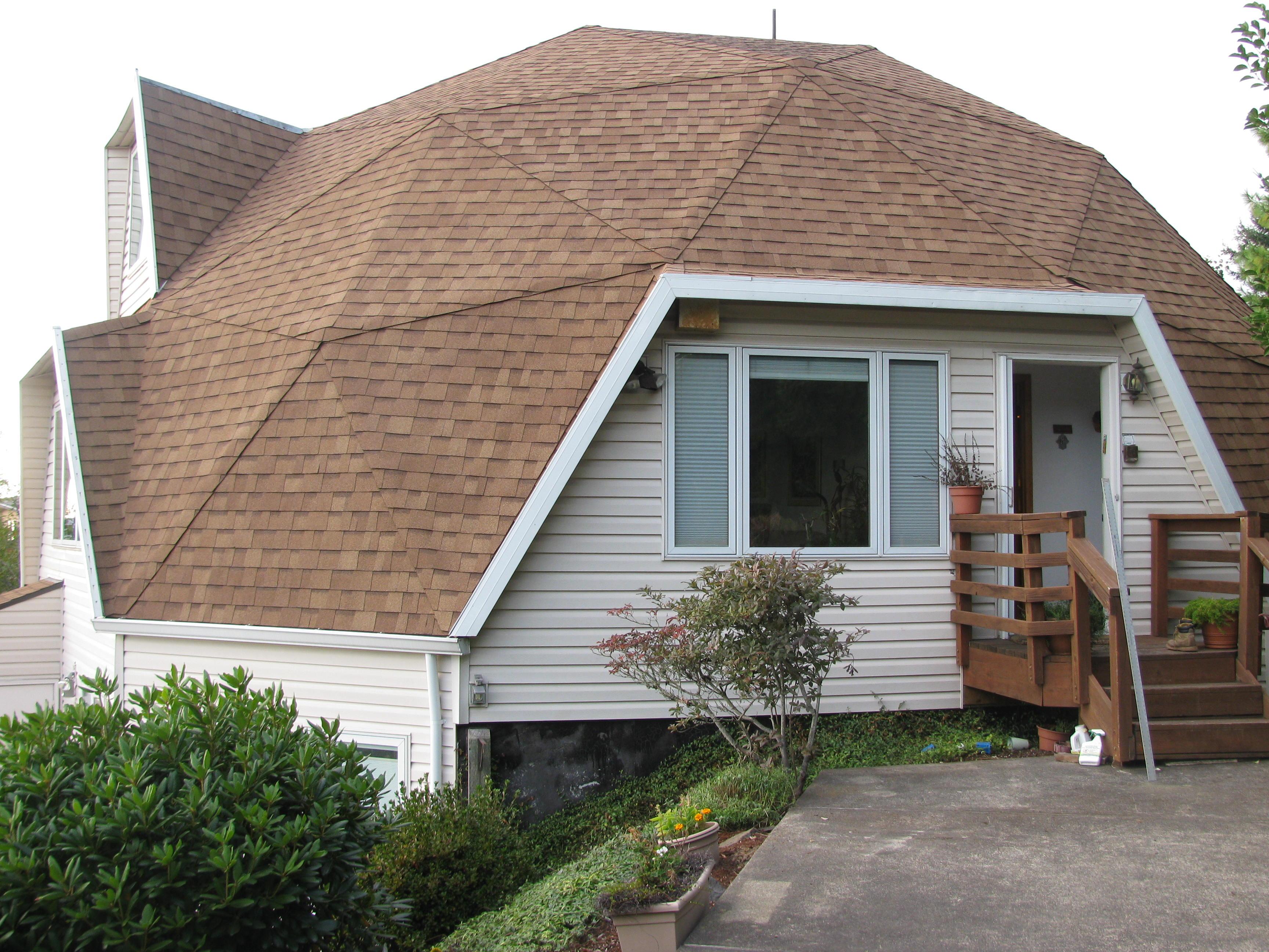 Re Roofing A Geodesic Dome Roofing A Geodesic Dome House