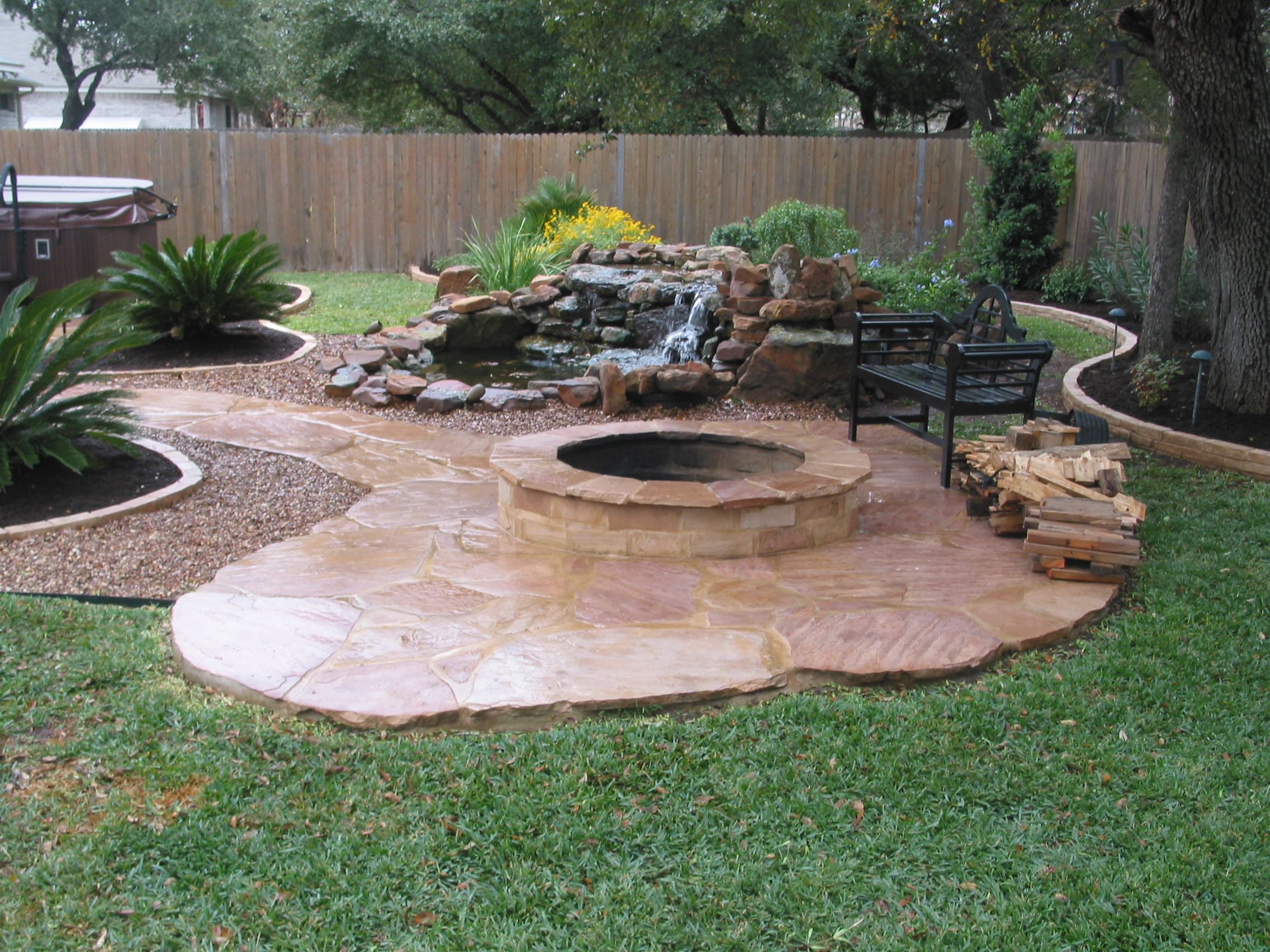 Artistic landscape creations port ludlow wa 98365 for Patio landscape design
