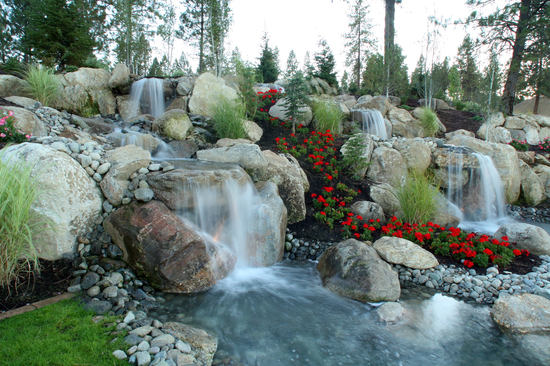 Custom Large Water Feature