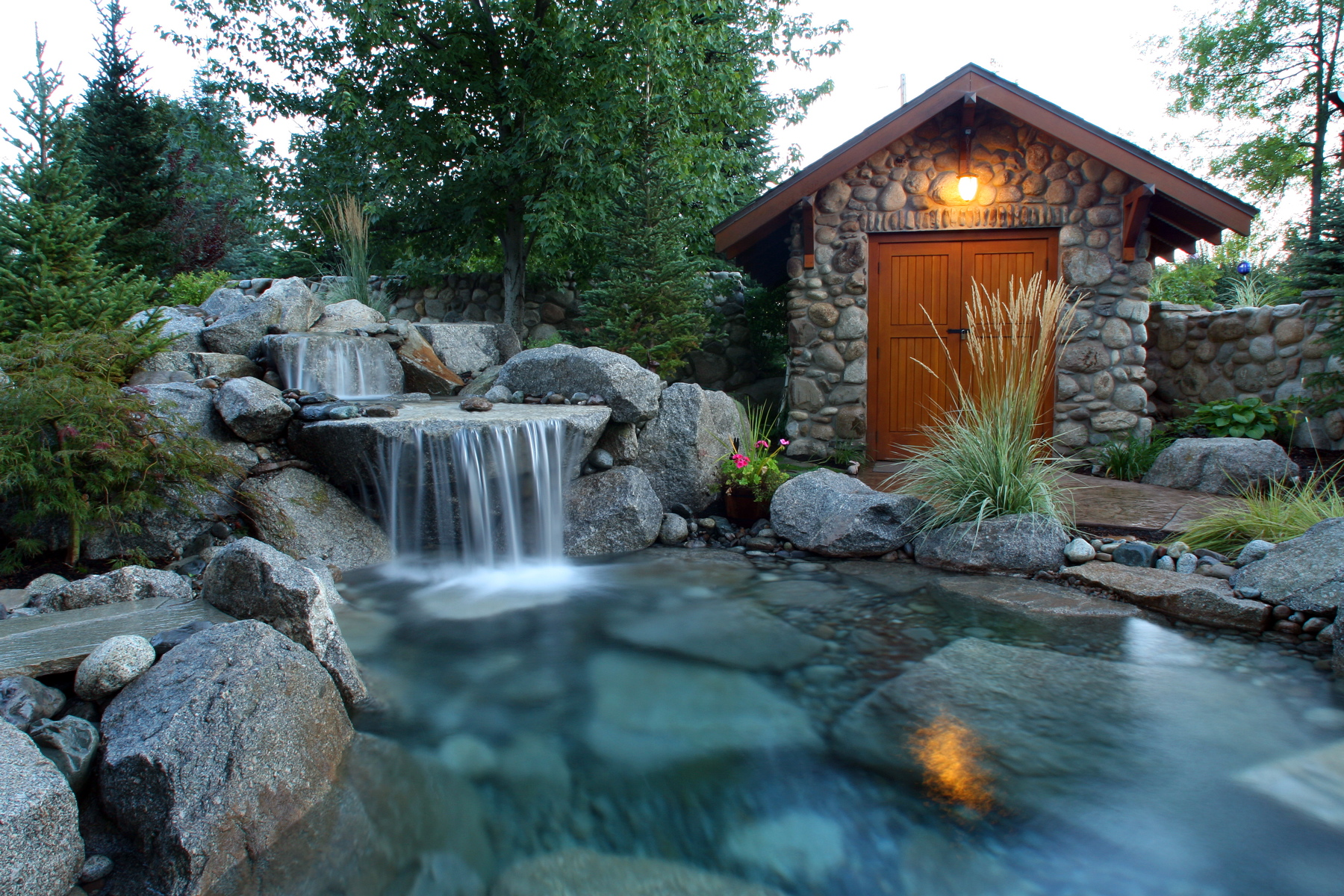 Custom Small Water Feature