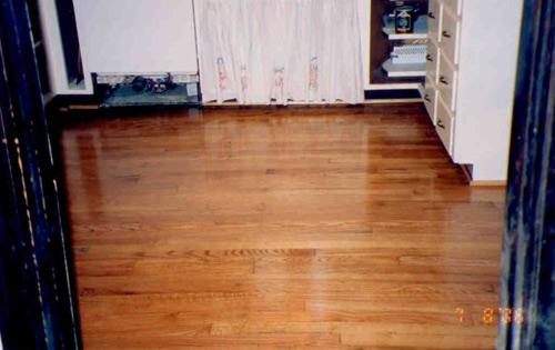 After for Hardwood flooring 40245