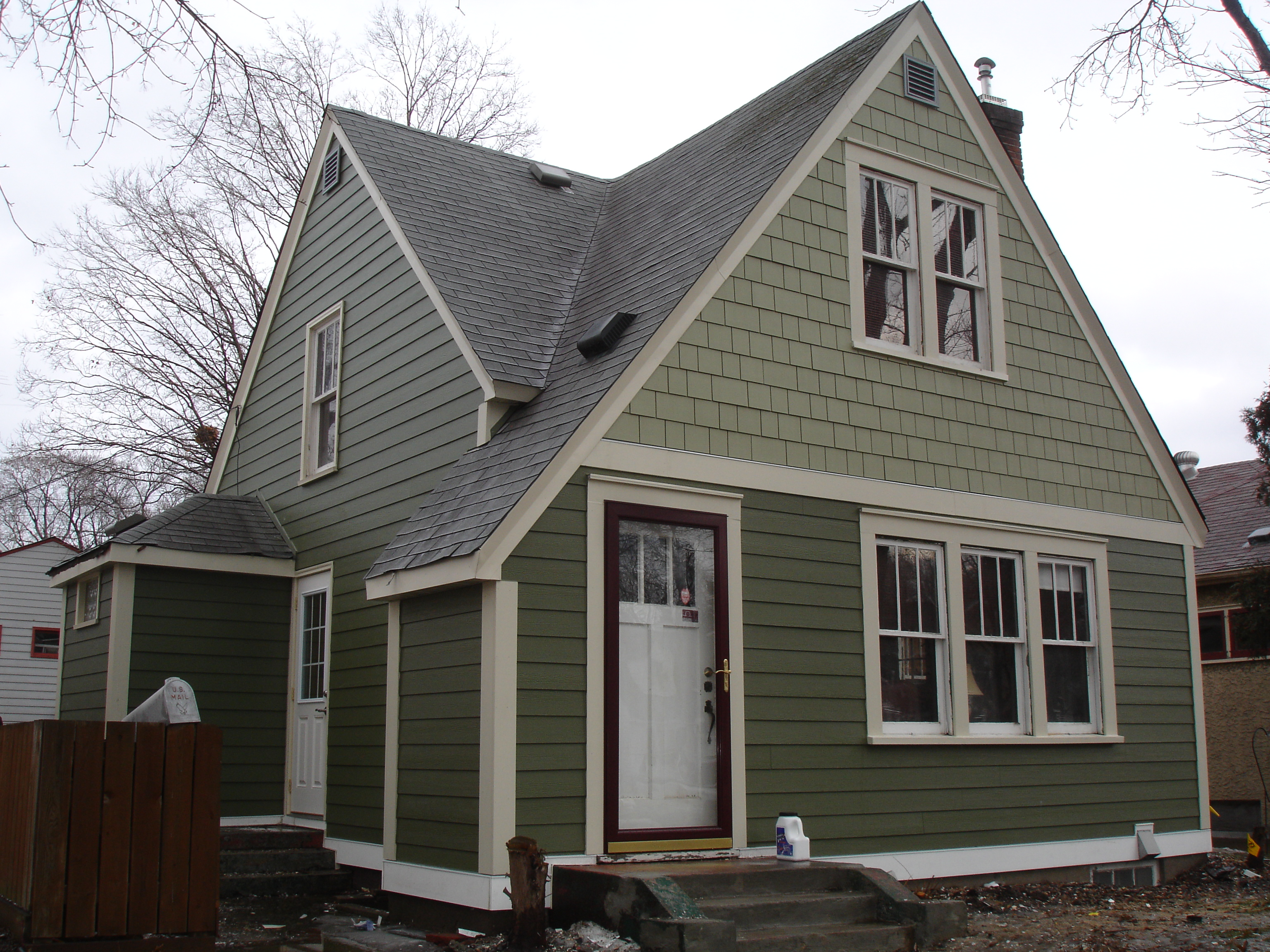 Hardie siding before and after pictures