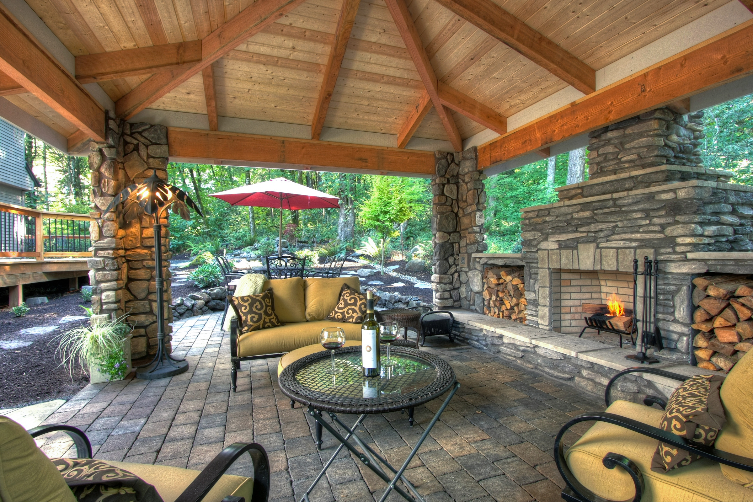 7266395b 735b 4ea8 954e b856a135ad99 Top Result 53 Inspirational Outside Stone Fireplace