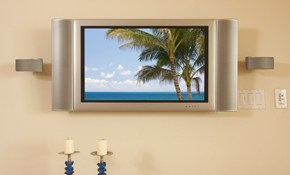 $175 for Flat Panel TV Mounting Service Including...
