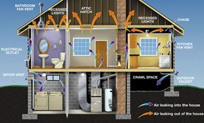 $316 for Whole House Energy Assessment, Weatherization...
