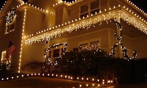 $99 for Custom Holiday Light Installation,...