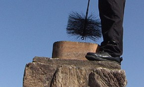 $159 for Chimney Sweep with FREE Fireplace...