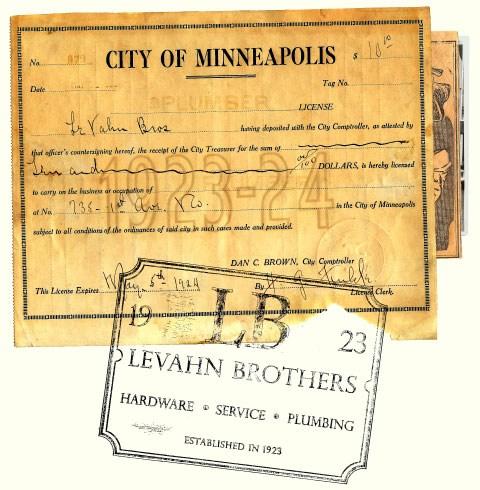 Original Plumbing License