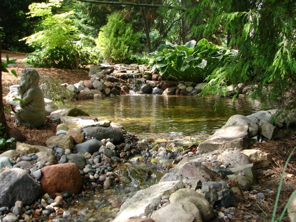 Upper Pond & Waterfall