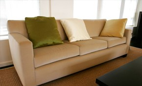 $77.65 for Upholstery Cleaning and Deodorizing