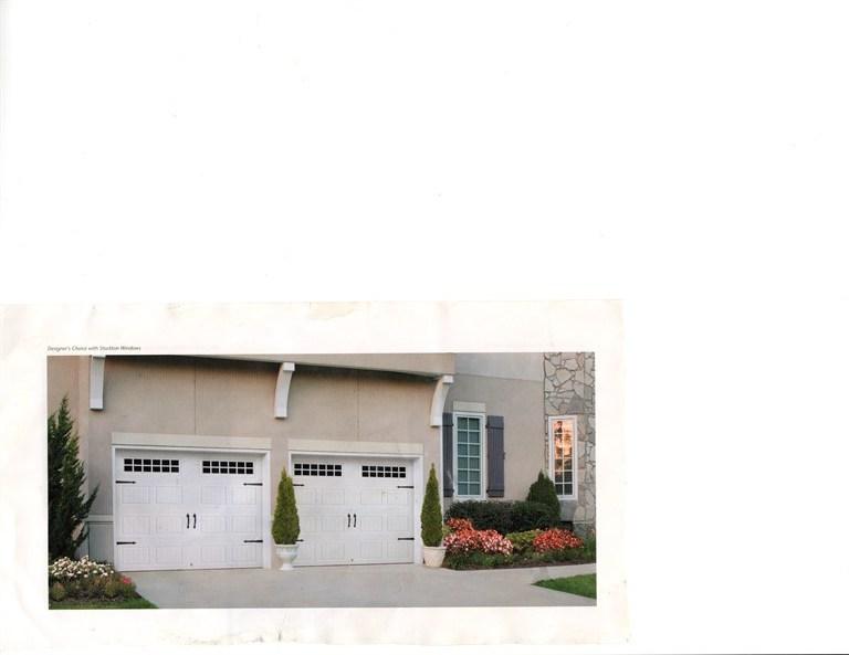 2 door garage doors
