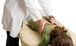 $29 for One-Hour Massage, Chiropractic Exam,...