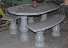 Granite Picnic Table
