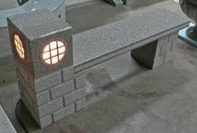Speaker/Light Bench