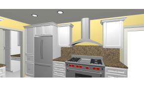 3D Kitchen or Bathroom Design with Consultation